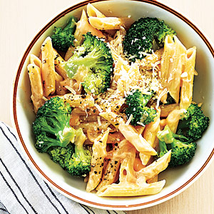 Cheesy Penne with Broccoli