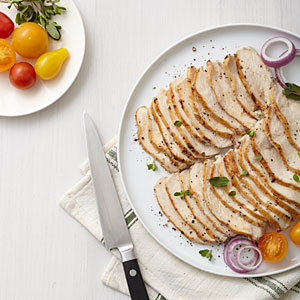 Seared Sliced Chicken Breast