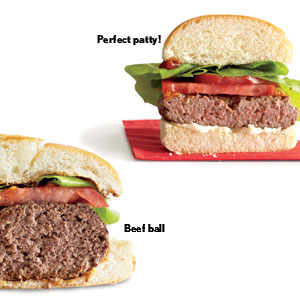 "Your Burger ""Meatballs"" on the Grill"