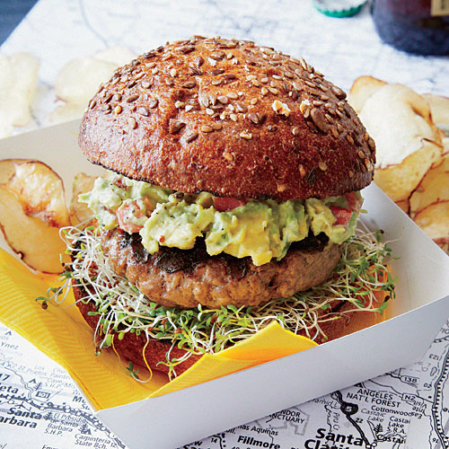 New England Turkey Burger - Healthy Grilled Burgers - Cooking Light