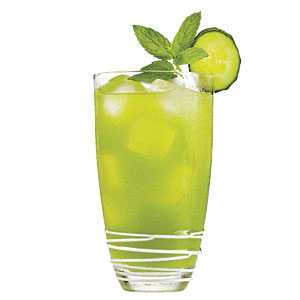 Cucumber-Mint Tequila Tonic