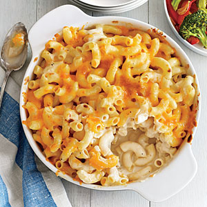 Two-Cheese Mac and Cheese