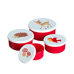 Woodland Creatures Snack Box Set
