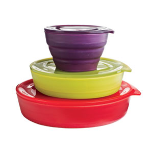 Aladdin Collapsible Bowl Set
