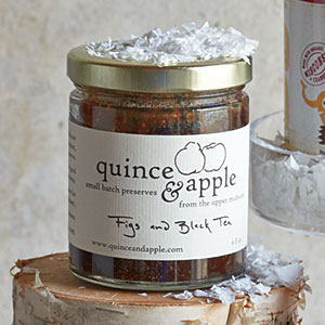 Quince & Apple Figs & Black Tea Preserves