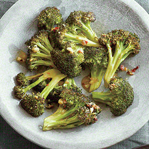 Roasted Broccoli with Garlic and Anchovy