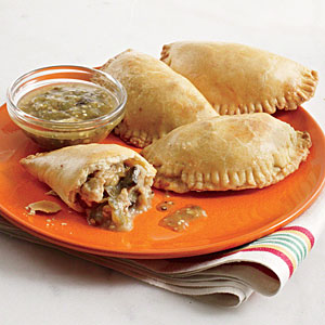 Chicken and Mushroom Empanada