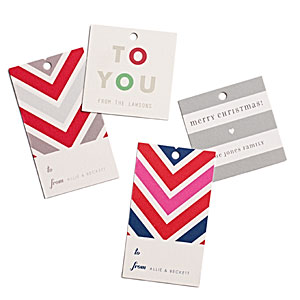 Stripe & Rhythm Gift Tags