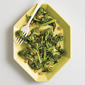 Broccoli Rabe with Golden Raisins