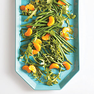Green Bean, Arugula and Clementine Toss