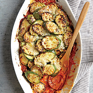 Zucchini and Onion Gratin