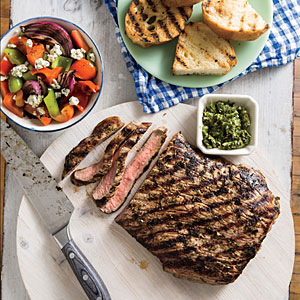 London Broil with Chimichurri