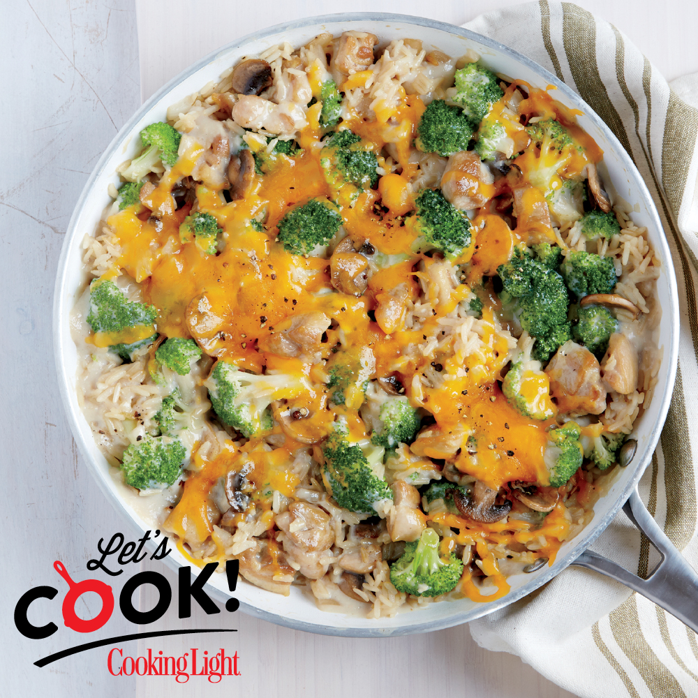 How To Make Chicken Broccoli And Brown Rice Casserole Cooking Light