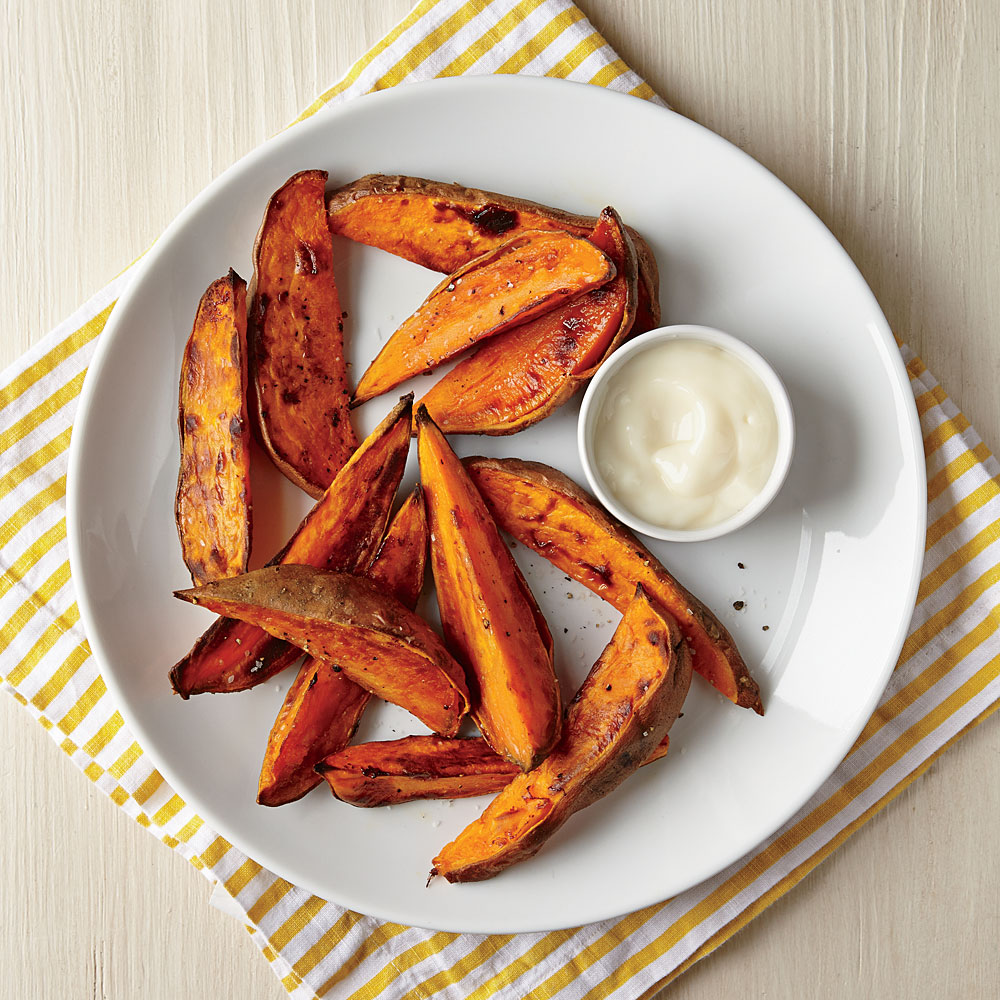 How to Cook Roasted Sweet Potato Wedges - Cooking Light