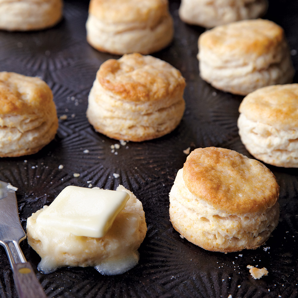 Morning Stars - 6 Steps to Flaky Buttermilk Biscuits - Cooking Light