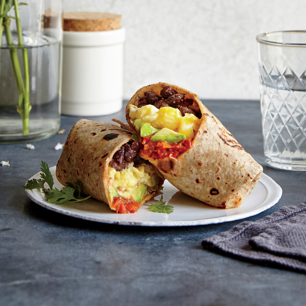 Breakfast Wraps Recipe: 300-Calorie Mexican-Inspired Recipes