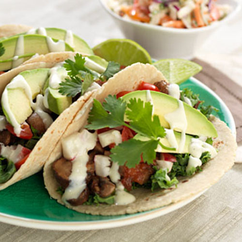 Content From Marzetti: Mushroom Tacos