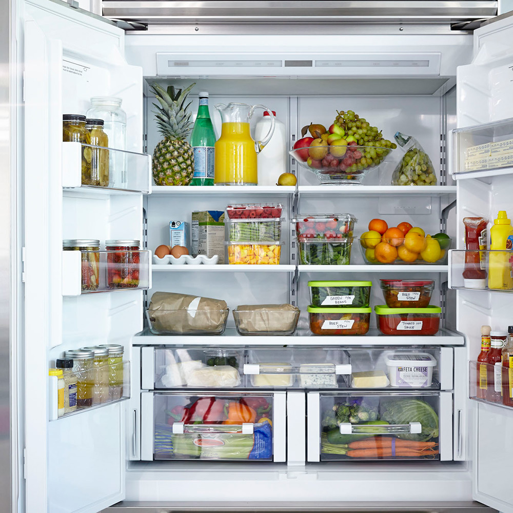 Kitchen Organization List: Anatomy Of A Healthy Fridge