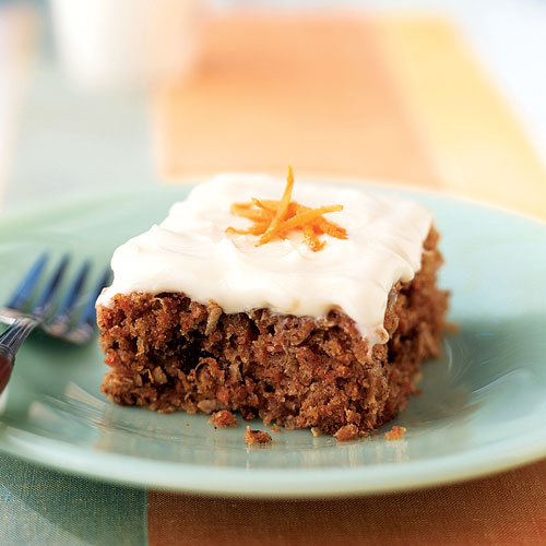 Traditional Carrot Cake Have Pineapple