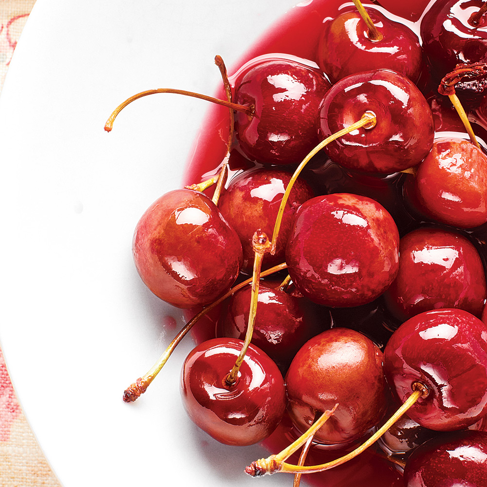 Spring Vegetables and Fruits: Sweet Cherries