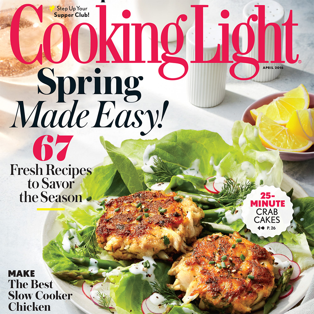 april 2016 magazine features - cooking light