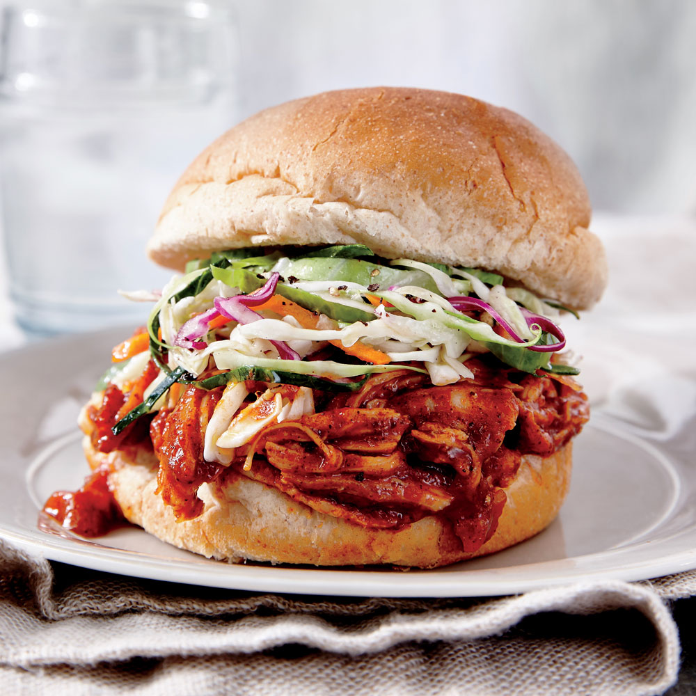 BBQ Chicken Sandwiches - Cooking Light