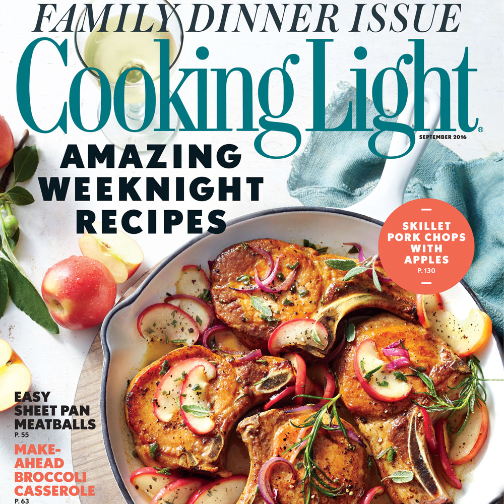 Cooking light easy dinner recipes