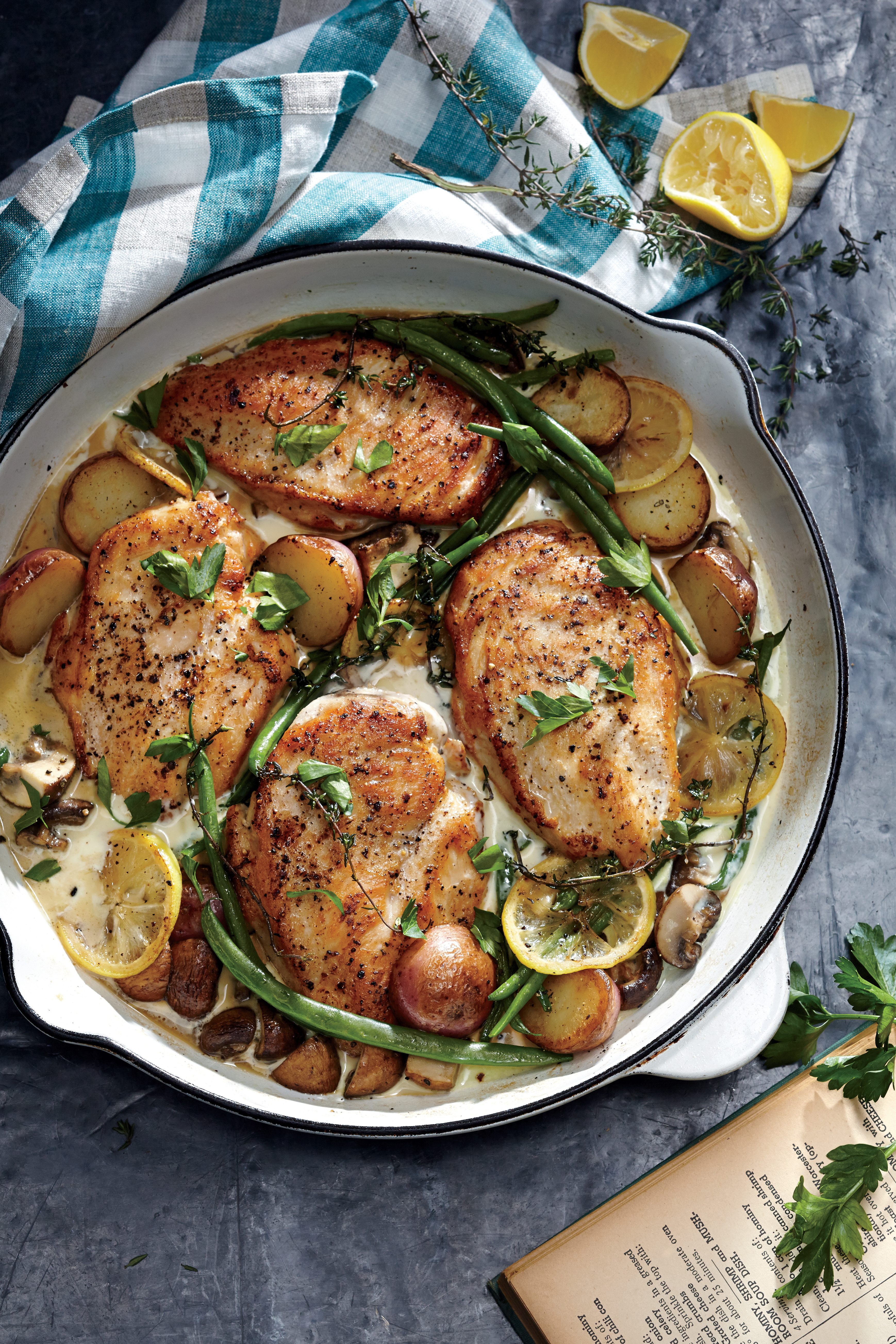 Easy pan cooked chicken recipes