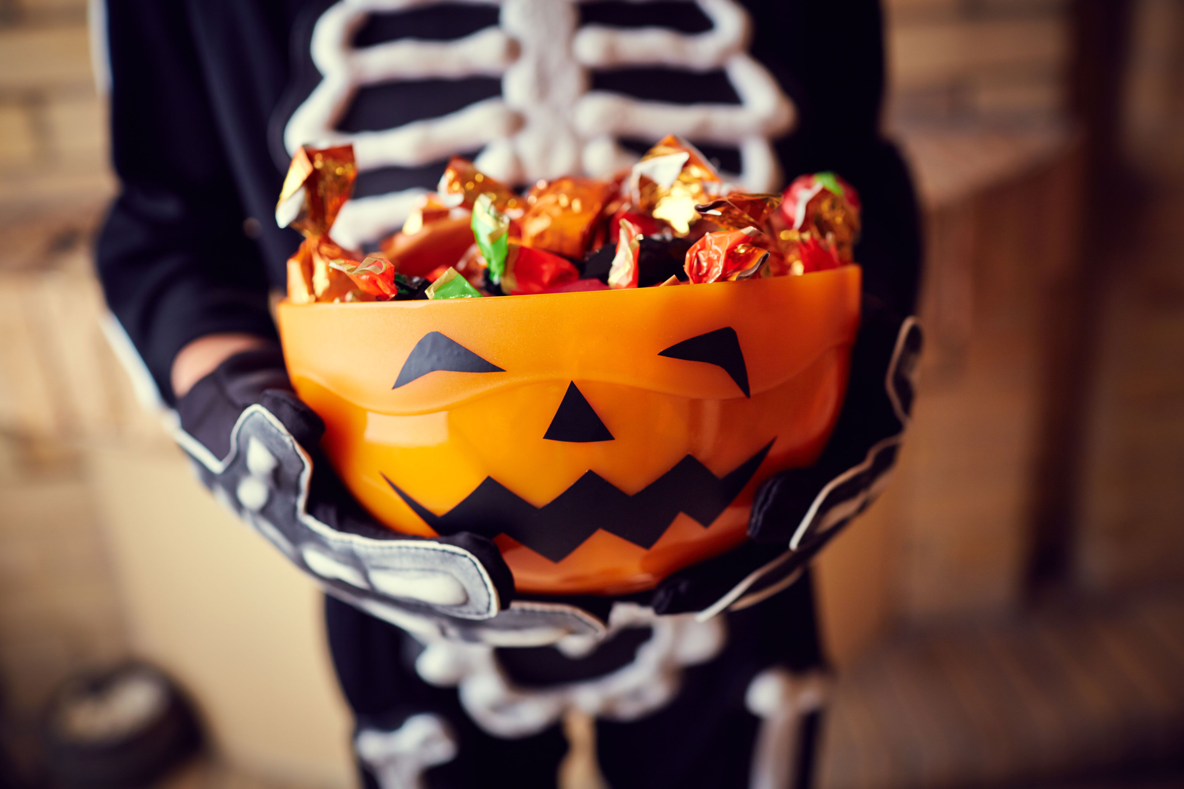 Getty Halloween Candy Trick or Treat