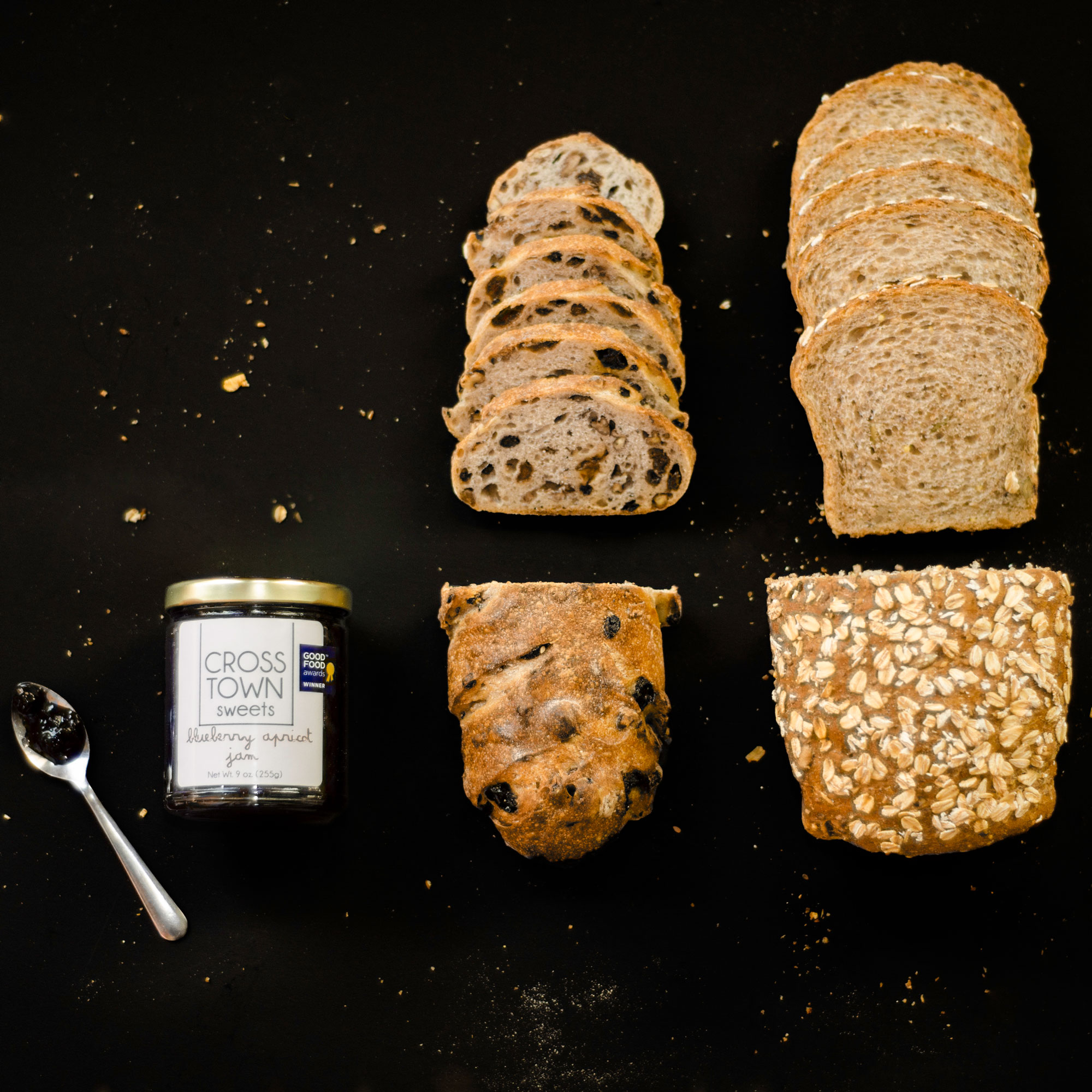 Pepita multigrain bread, pecan currant raisin bread, and Crosstown Sweets' blueberry apricot jam join forces in this tasty gift set for arguably the greatest PB&J potentially ever seen. Hot Bread Kitchen gives back to the food community by creating business incubation programs, where diverse talent is fairly compensated and empowered to grow their start up businesses in the world of food entrepreneurship.                                                  $30, hotbreadkitchen.org