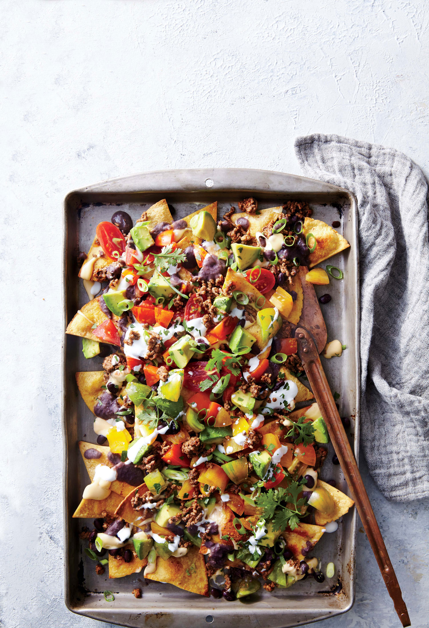 Sheet Pan Beef and Black Bean Nachos Recipe - Cooking Light