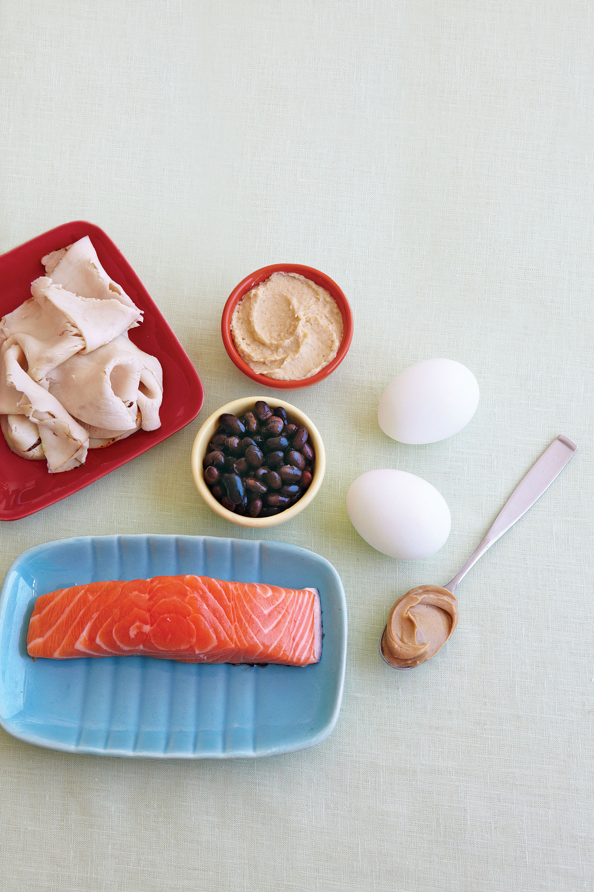 Protein diet: a selection of sites