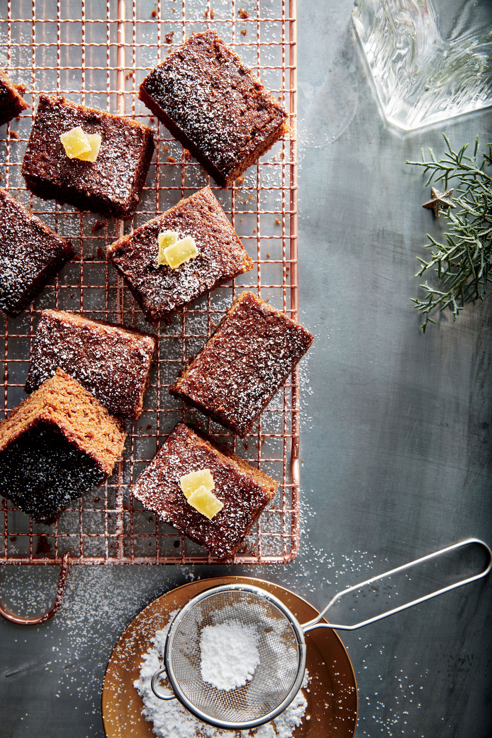 Fresh Gingerbread Squares Recipe - Cooking Light