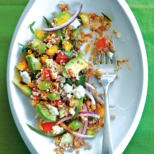 Spicy Southwestern Tabbouleh