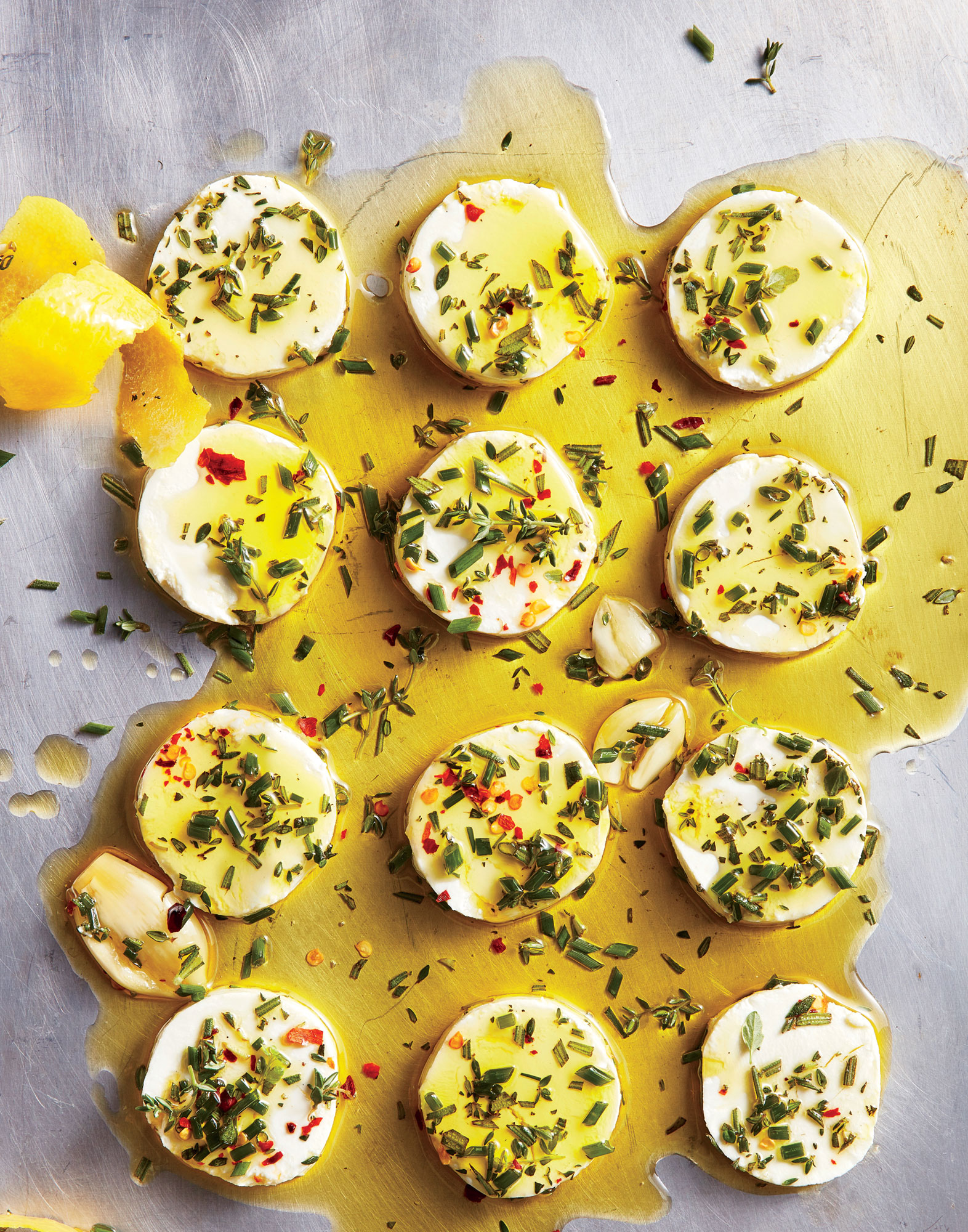 Marinated Goat Cheese Recipe - Cooking Light