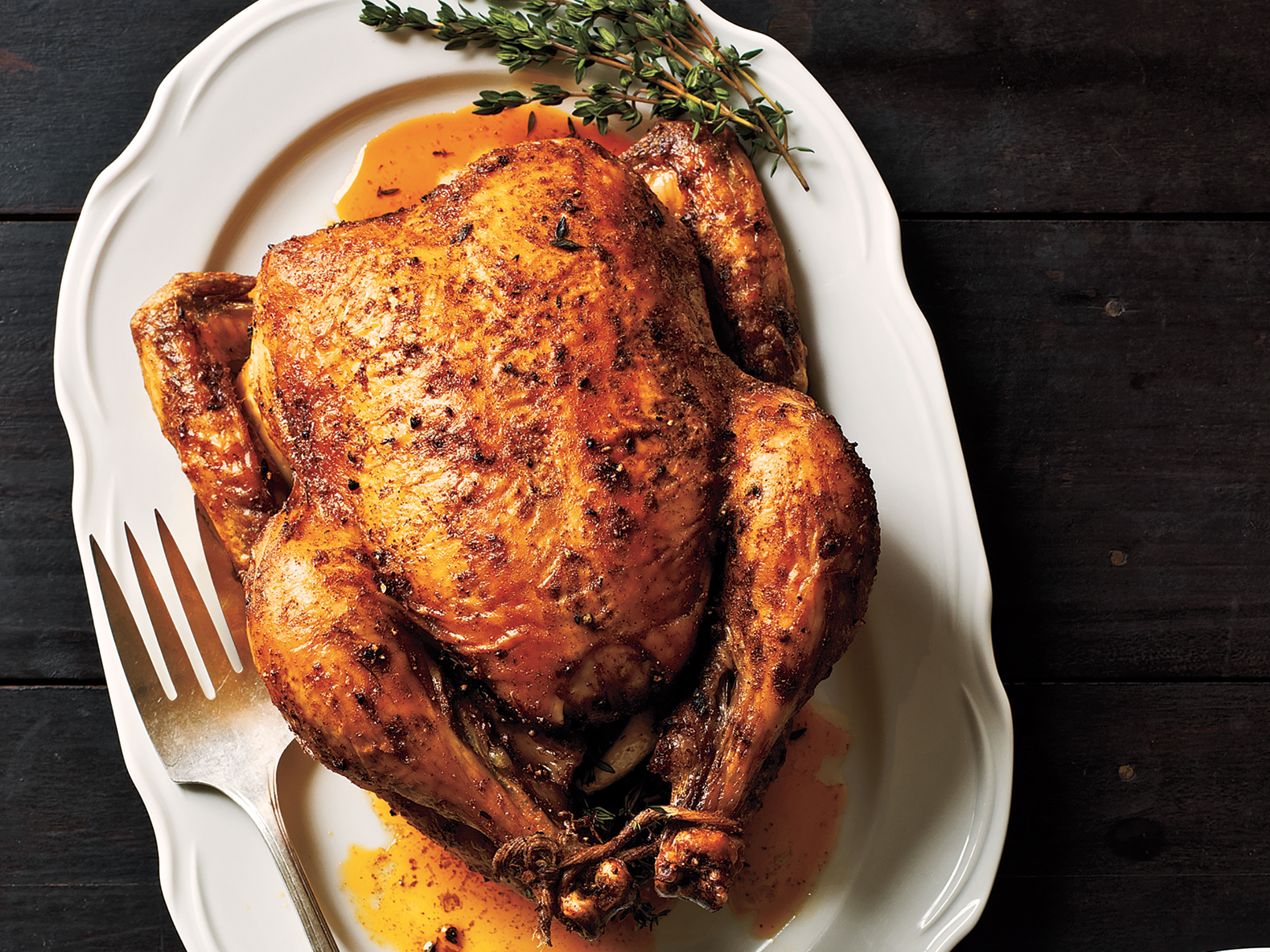 How to cook whole roast chicken