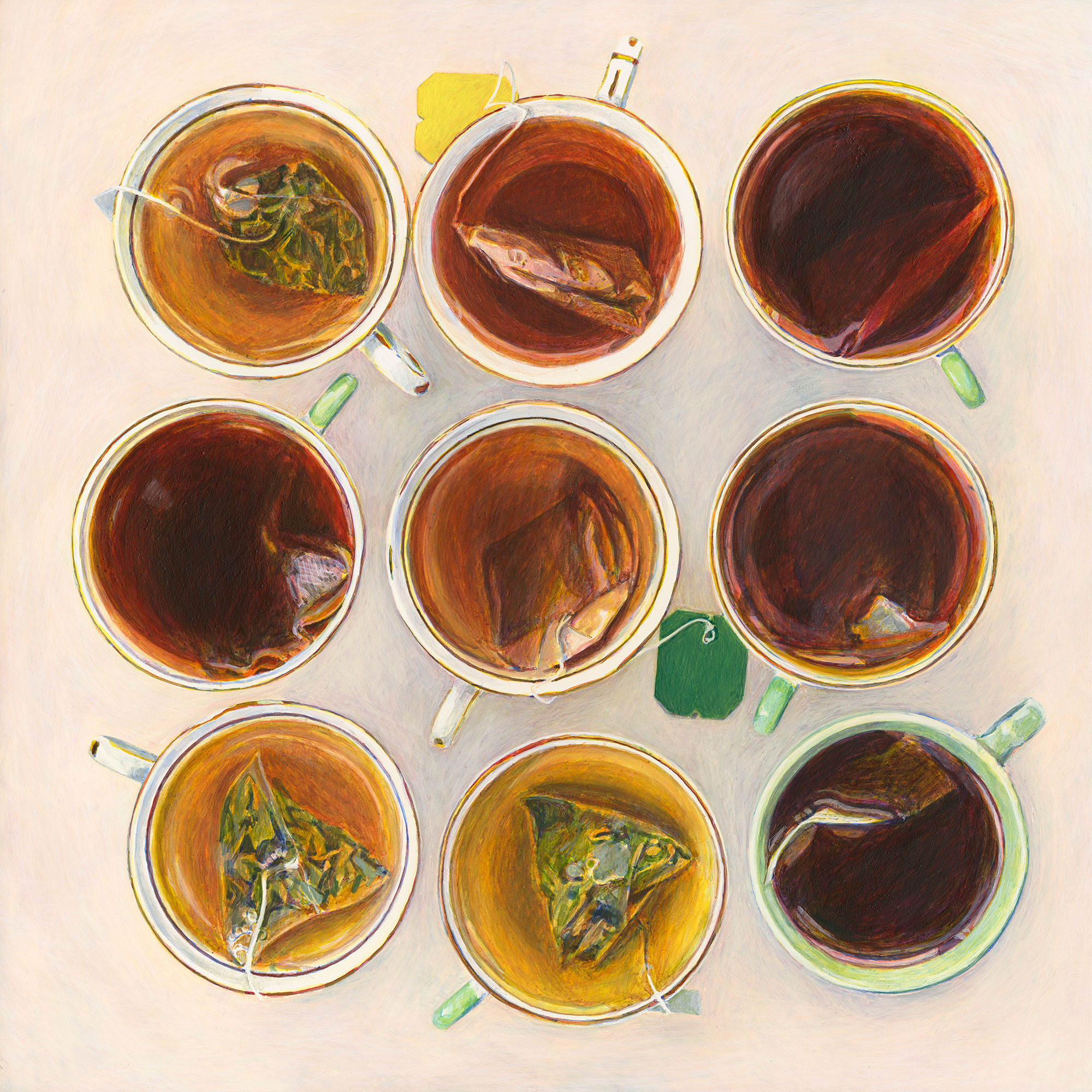 Cups of Tea Illustration