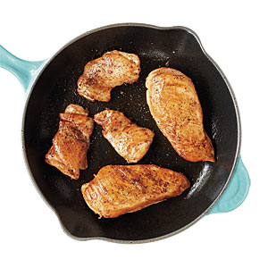 You always choose chicken breasts over thighs to save calories