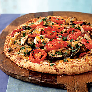 Ratatouille Pizza with Chicken Recipes