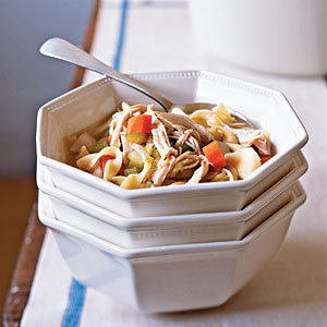 Chicken-Vegetable Soup Recipe