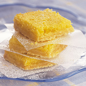 Easy Lemon Squares Recipe