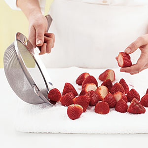 Freeze Fresh Berries: Air-Dry