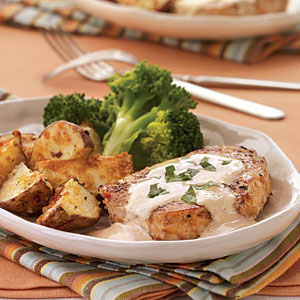 Heart healthy recipe for pork chops