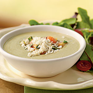 Avocado Soup with Citrus-Shrimp Relish Recipes