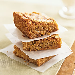 Butterscotch Blondies Recipe