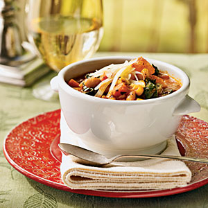Winter Minestrone - Swiss Chard Recipes - Cooking Light