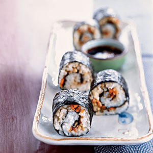 Vegetable Maki Vegetarian Pasta and Grains Recipe