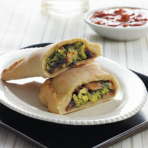 Broccoli-Cheese Calzones
