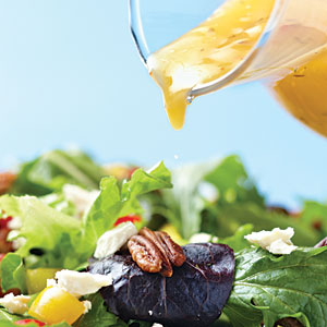 Drizzle the Dressing