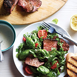 Ranch Steak Bruschetta Salad